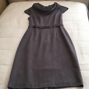Tahari Grey Dress